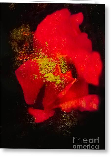 Gold Dust Greeting Card by Kim Henderson