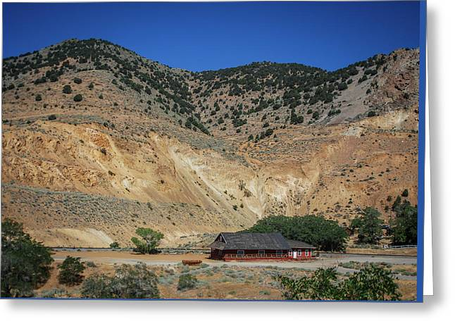 Gold Hill Station Greeting Card by Rick Mosher