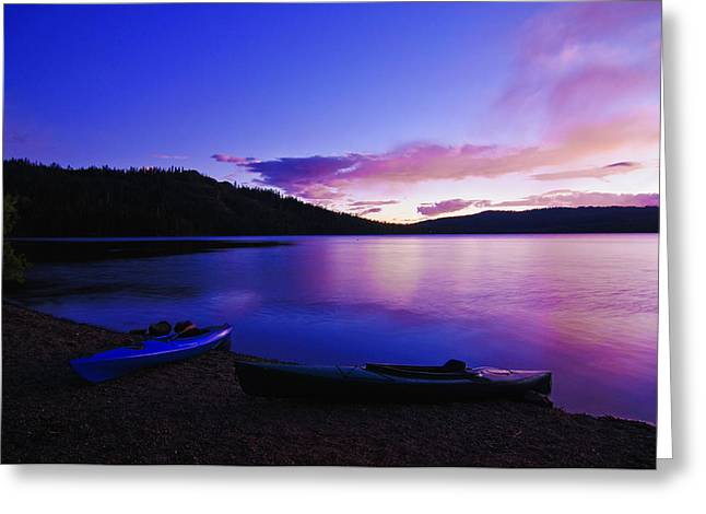 Greeting Card featuring the photograph Gold Lake Sunrise by Sherri Meyer