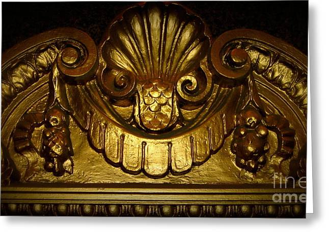 Gold Medallion, Pittsburgh Pa Greeting Card by Len-Stanley Yesh