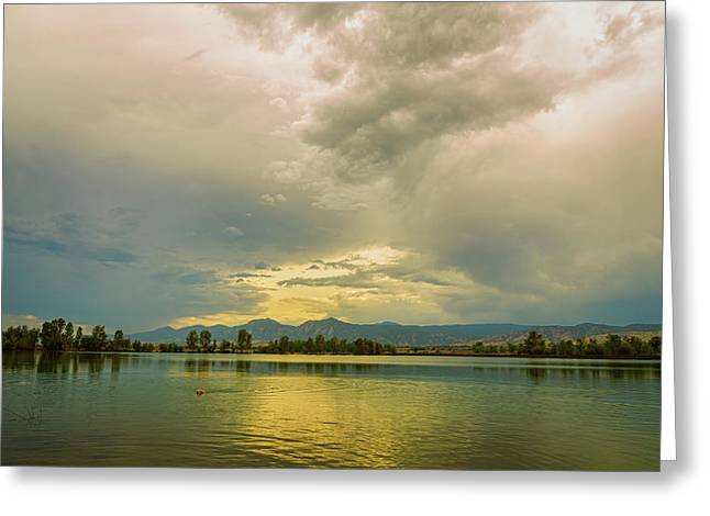 Greeting Card featuring the photograph Golden Afternoon by James BO Insogna