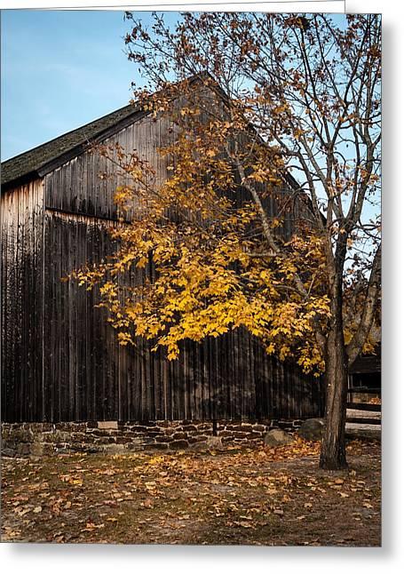 Golden Barn Greeting Card