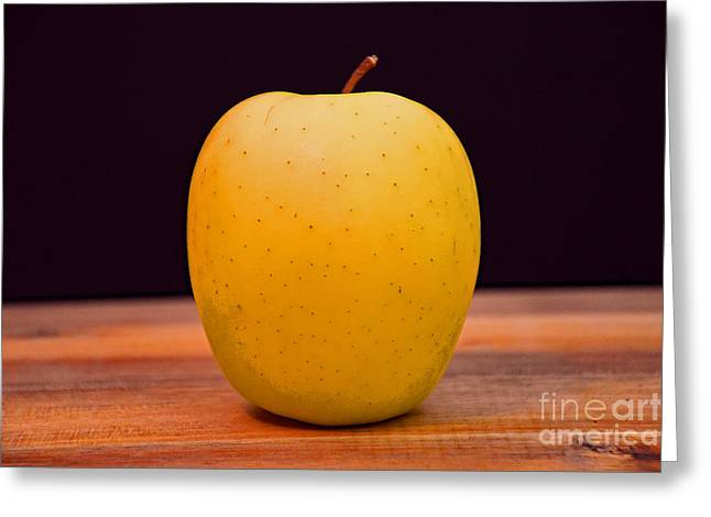 Golden Delicious Apple Greeting Card