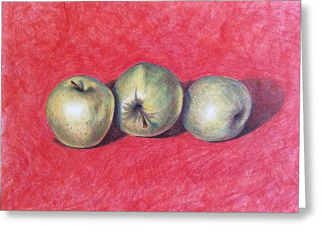 Golden Delicious Greeting Card