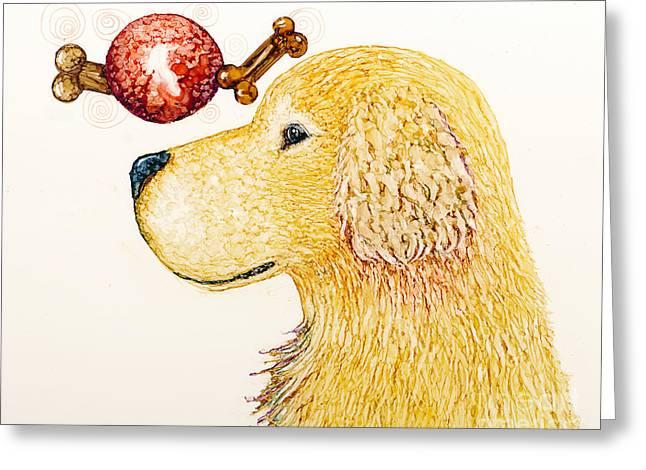 Golden Dreams Greeting Card