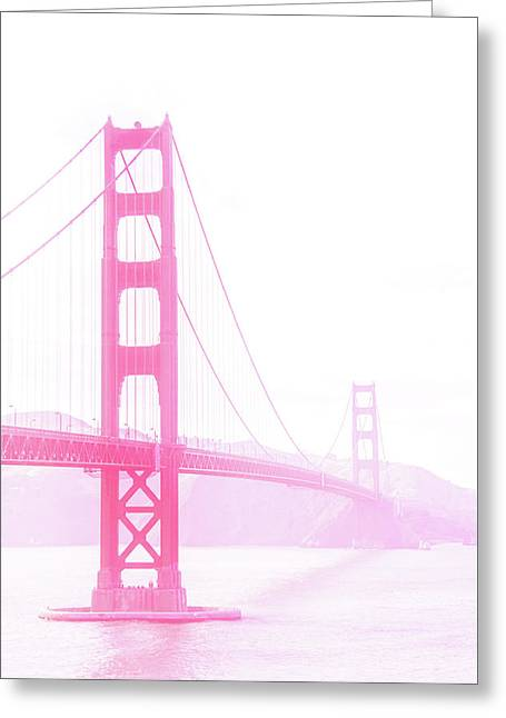 Golden Gate Greeting Card by Art Spectrum