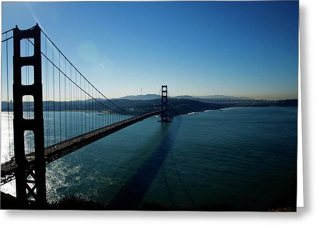 Golden Gate Blues Greeting Card