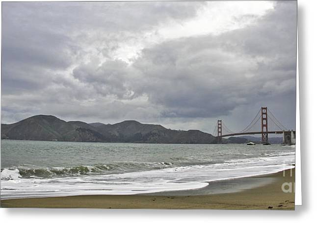Golden Gate Study #2 Greeting Card