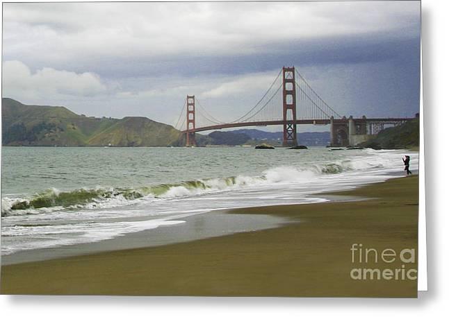 Golden Gate Bridge #4 Greeting Card