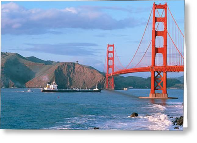 Golden Gate Bridge Ca Greeting Card