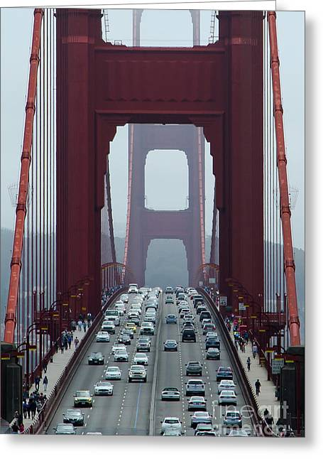 Golden Gate Bridge, San Francisco Greeting Card