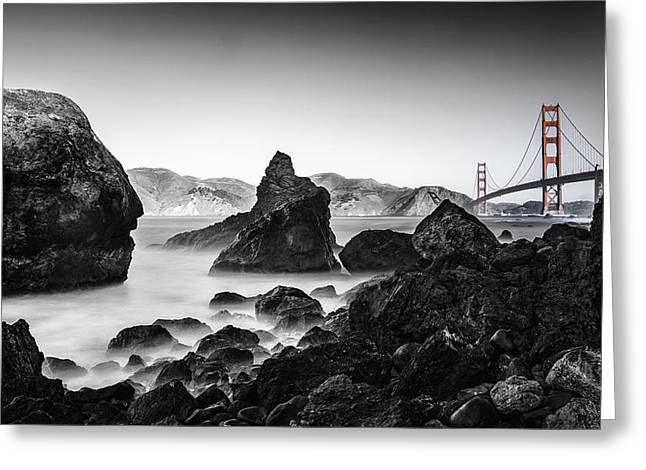 Golden Gate Colour Greeting Card