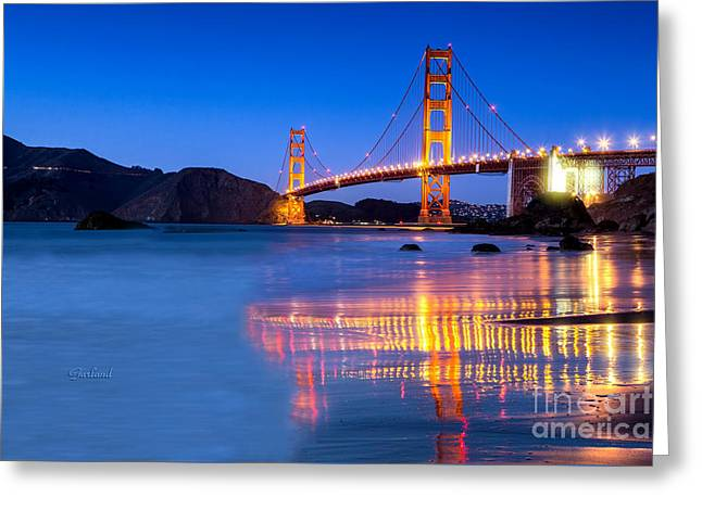 Golden Gate Dreams Greeting Card