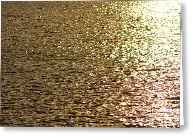 Golden Lake Greeting Card