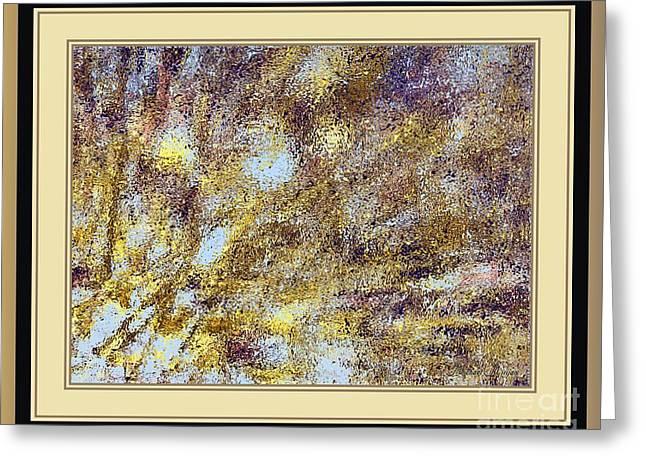Golden Rain Greeting Card