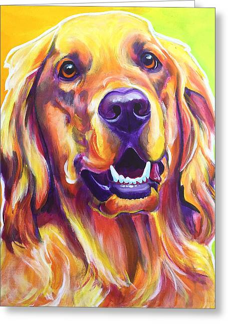Golden Retriever - Jasper Greeting Card