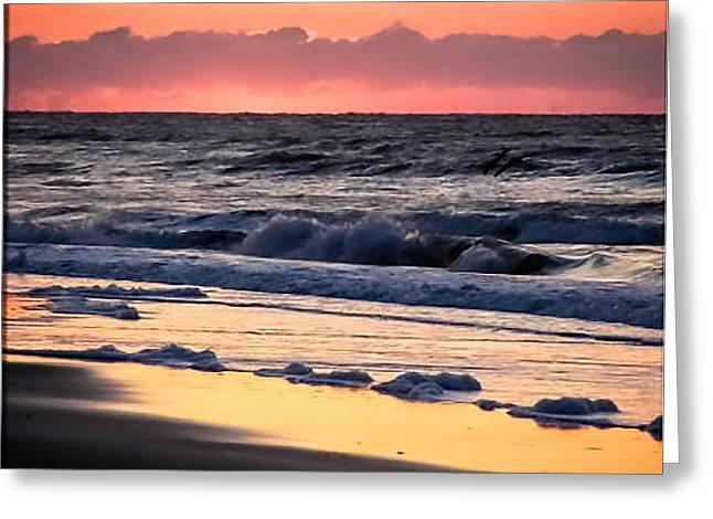 Golden Shores Greeting Card