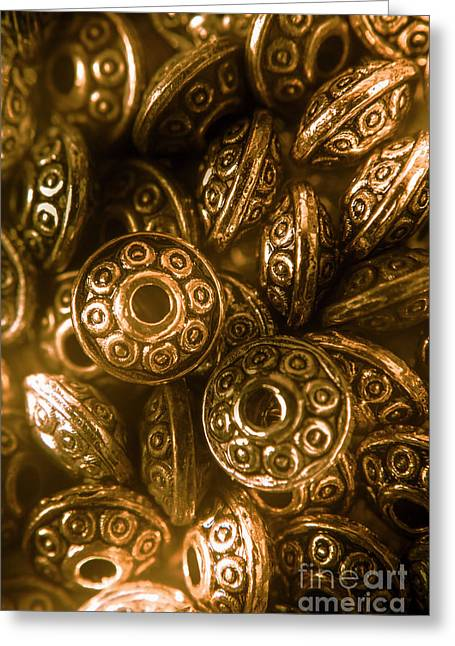Golden Ufos From Egyptology  Greeting Card by Jorgo Photography - Wall Art Gallery