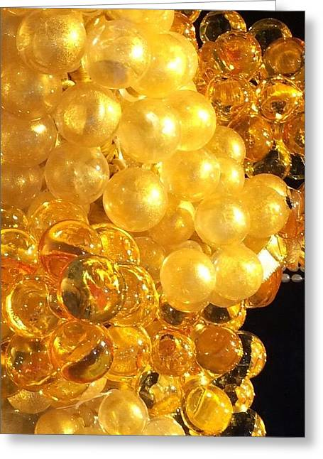 Golden Venice Series 8 Greeting Card by Betsy Moran