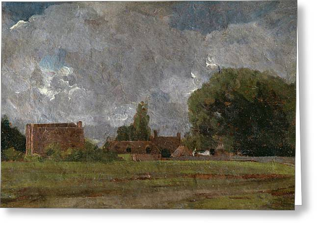 Golding Constable's House, East Bergholt Greeting Card by John Constable