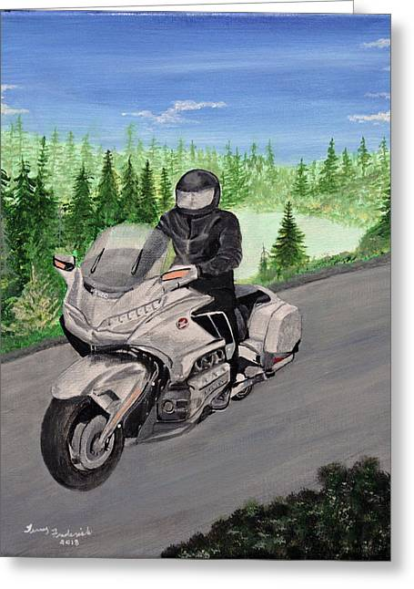 Goldwing Greeting Card