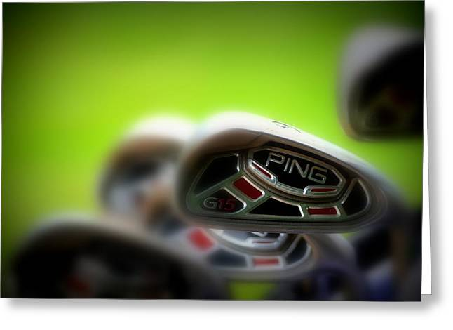 Golf Clubs 2 Greeting Card