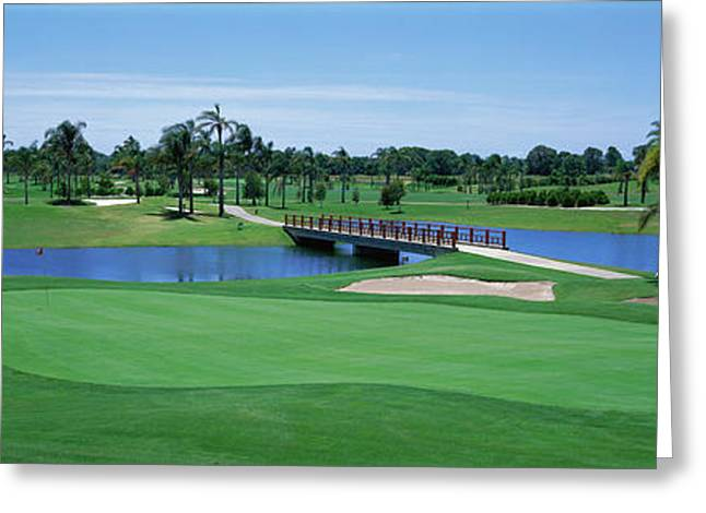 Golf Course Gold Coast Queensland Greeting Card by Panoramic Images