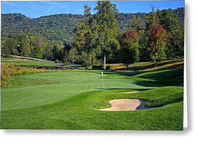 Early Autumn Golf Greeting Card