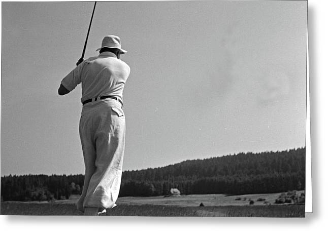Golf Greeting Card