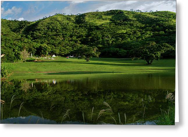Golfito Desde La Laguna Greeting Card