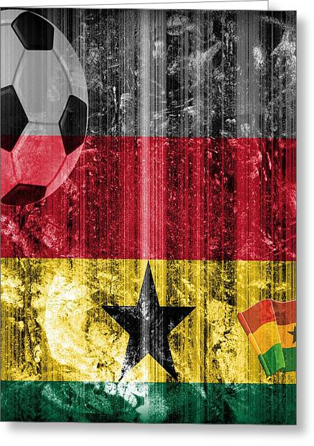 Gollll - Ghana Greeting Card by Fania Simon