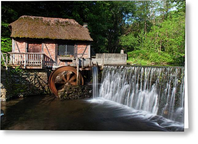 Gomez Mill In Spring #1 Greeting Card by Jeff Severson