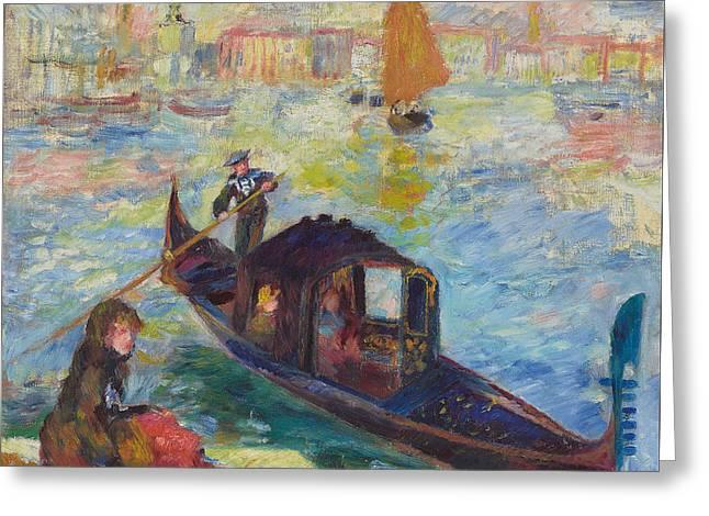 Gondola  Venice Greeting Card