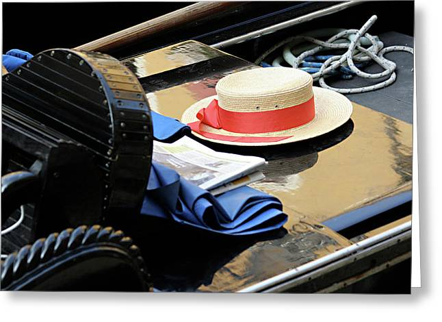 Gondolier's Hat Greeting Card
