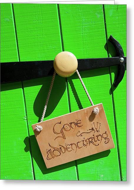 Gone Adventuring Greeting Card