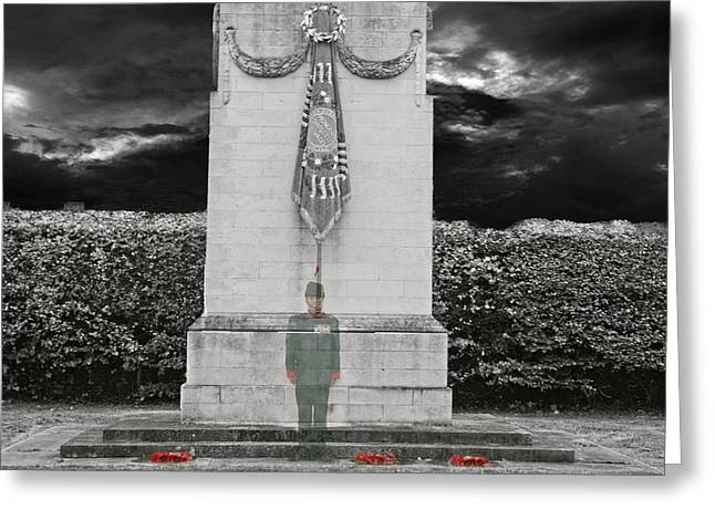 Gone But Not Forgotten - Lest We Forget Greeting Card by Shane Reed