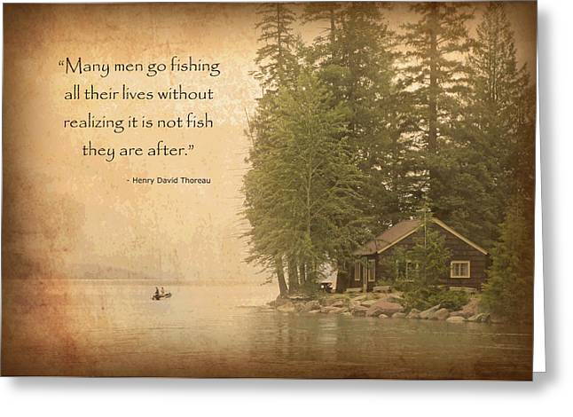Gone Fishing... Greeting Card