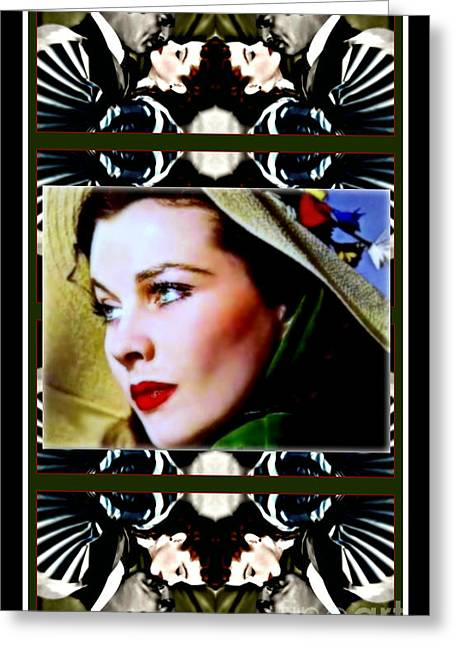 Gone With The Wind Greeting Card by Wbk
