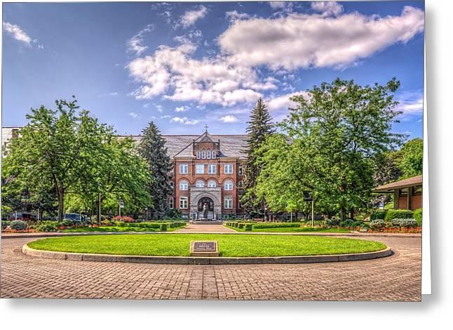 Gonzaga University Greeting Card by Spencer McDonald