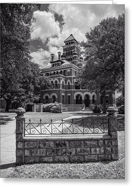Gonzales County Courthouse Texas Greeting Card by L O C
