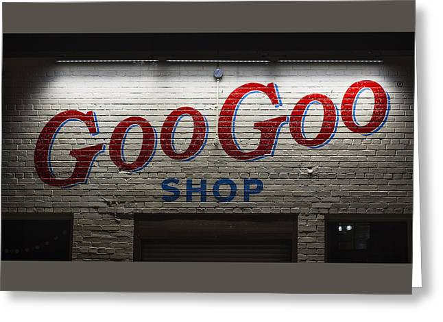 Goo Goo Greeting Card by Stephen Stookey