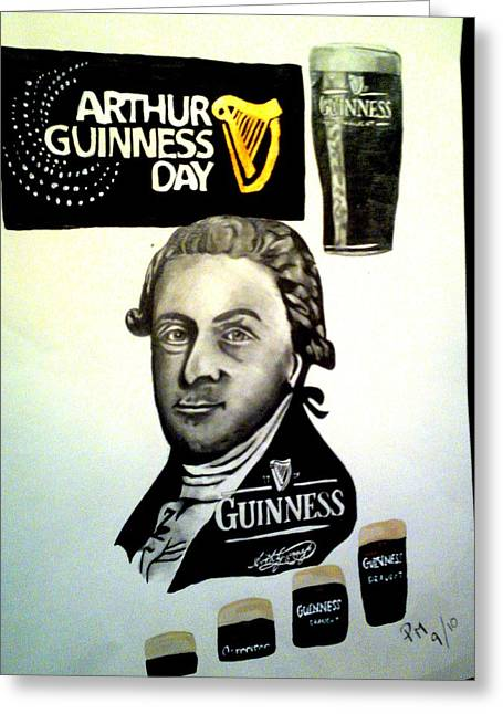 Good Day For A Guinness Greeting Card
