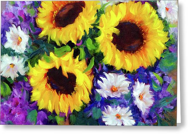 Good Day Sunflowers Greeting Card