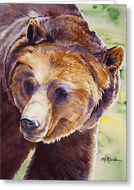 Good Day Sunshine - Grizzly Bear Greeting Card