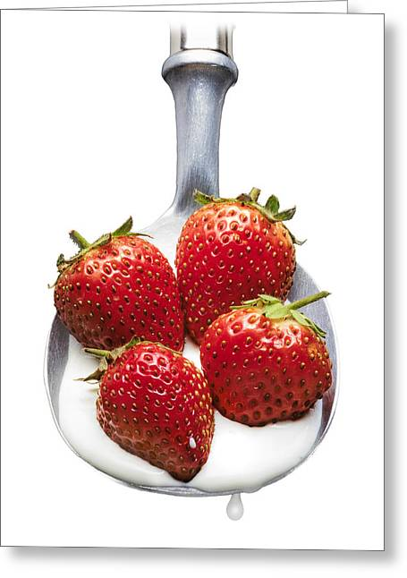 Good Enough To Eat Greeting Card by Jon Delorme