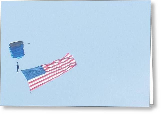 Good Glory Greeting Card by Caryl J Bohn