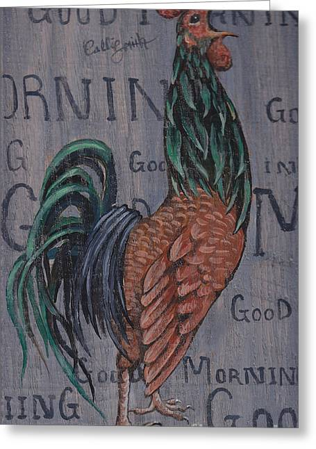 Good Morning Greeting Card by Callie Smith