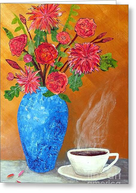 Good Morning Greeting Card by Desiree Paquette