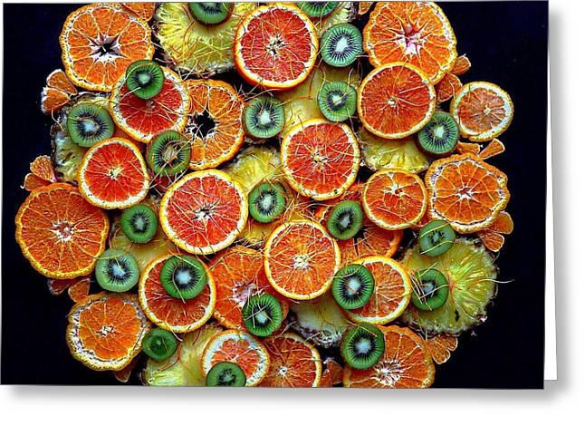 Good Morning Fruit Greeting Card
