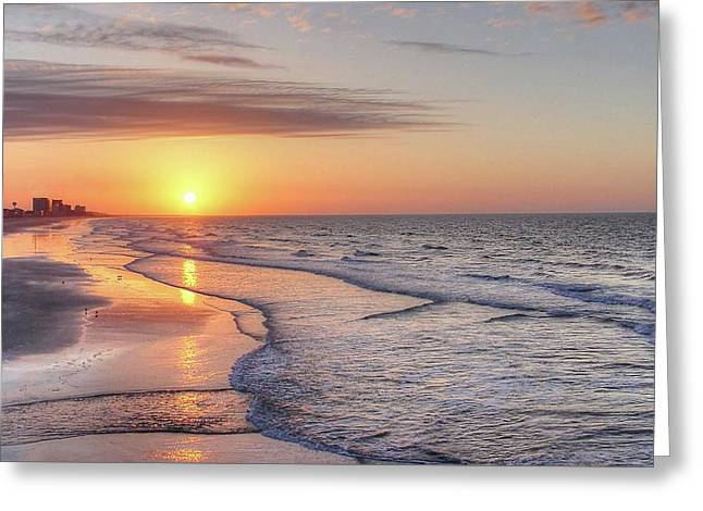Good Morning Grand Strand Greeting Card